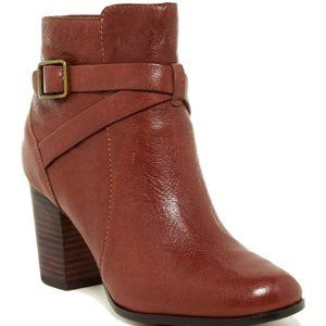 Cole Haan Cassidy Buckle Leather Bootie Worn once